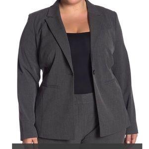 Halogen Ela Notch Collar Suit Jacket Size 22 NWOT